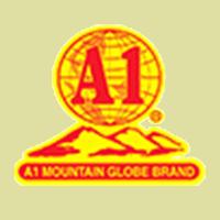 A1 Mountain Globe Brand