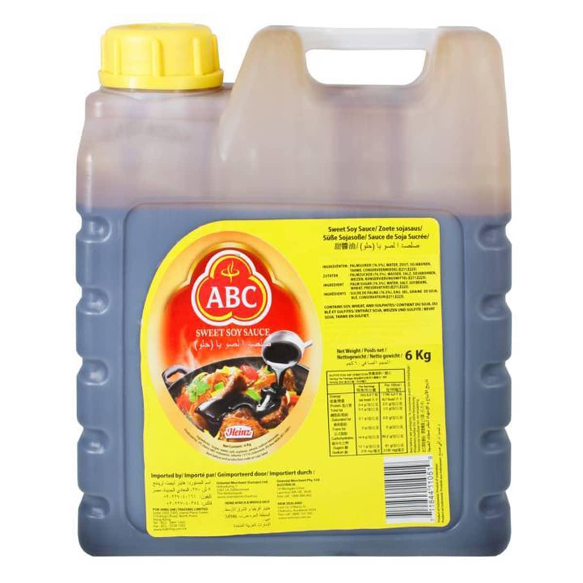 Buy ABC Sweet Soy Sauce (Kecap Manis) - 6 kg