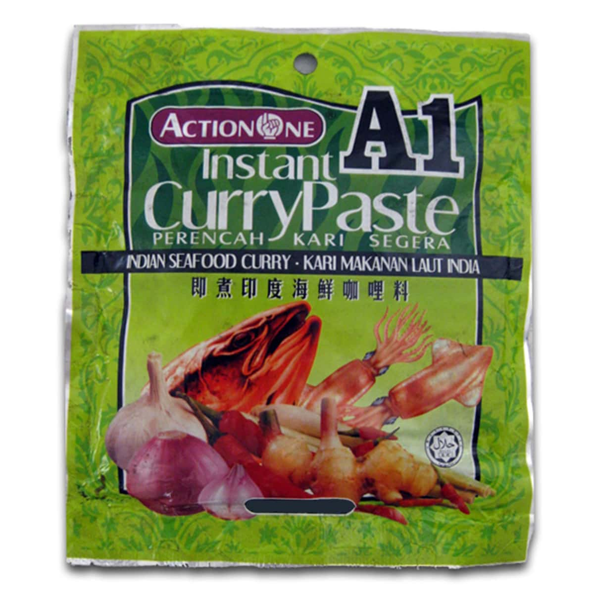 Buy Action One (A1) Instant Curry Paste (Indian Seafood Curry) - 230 gm