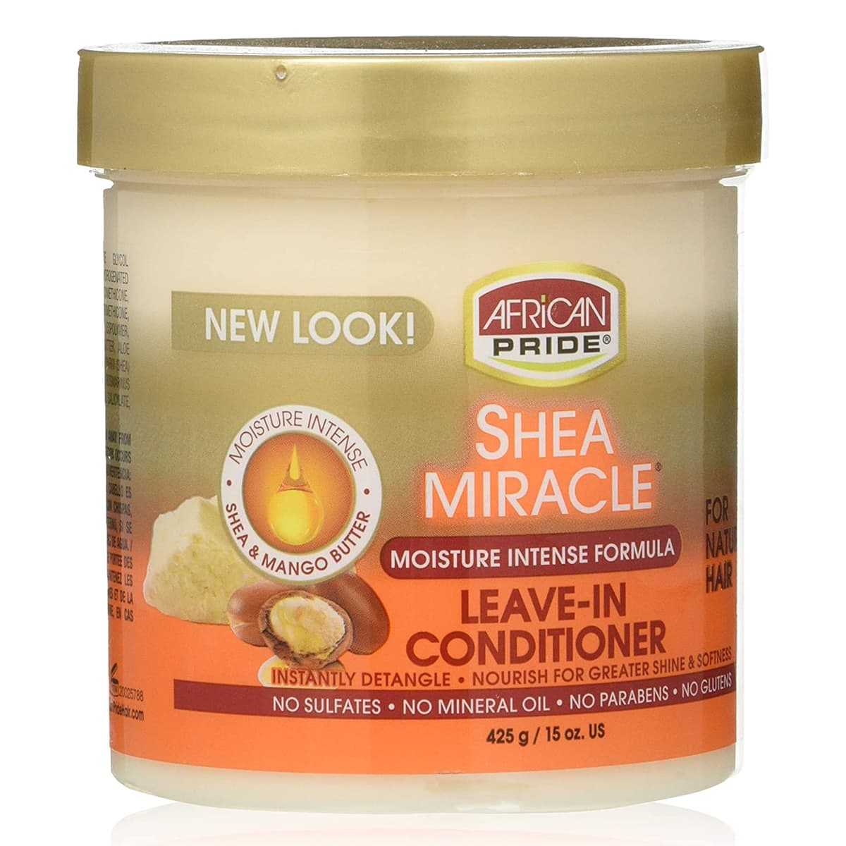 Buy African Pride Shea Butter Miracle Leave-in Conditioner - 425 gm