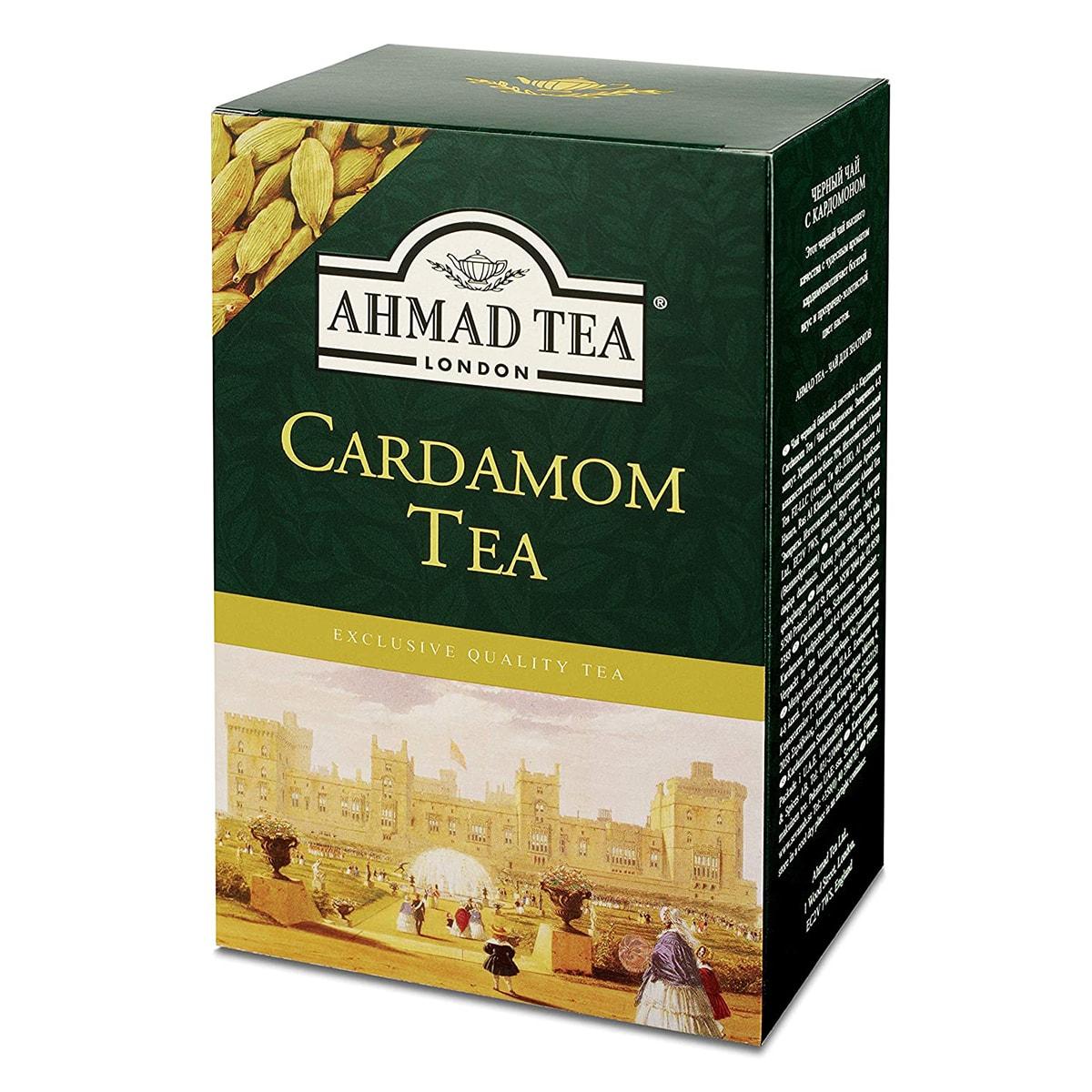 Buy Ahmad Tea London Cardamon Tea (Loose Tea) - 500 gm