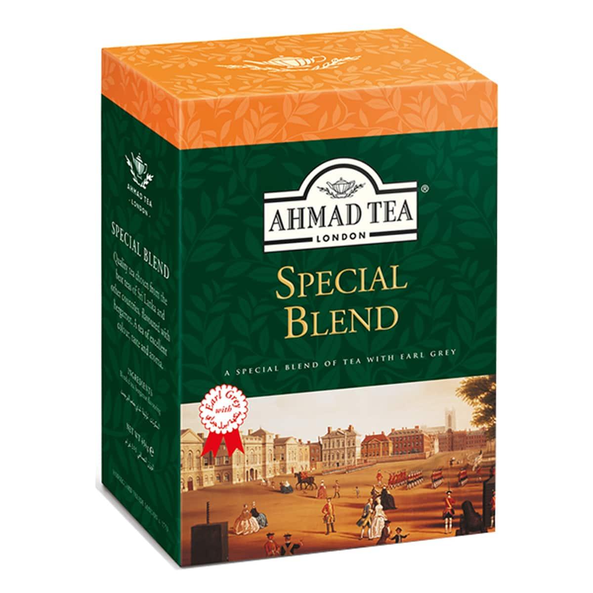 Buy Ahmad Tea London Special Blend with Earl Grey Tea (Loose Tea) - 500 gm