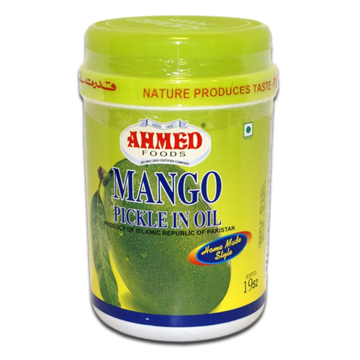 Buy Ahmed Foods Mango Pickle in Oil - 1 kg