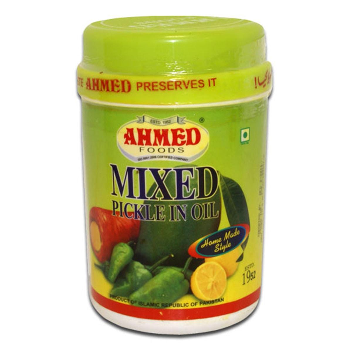 Buy Ahmed Foods Mixed Pickle in Oil - 1 kg