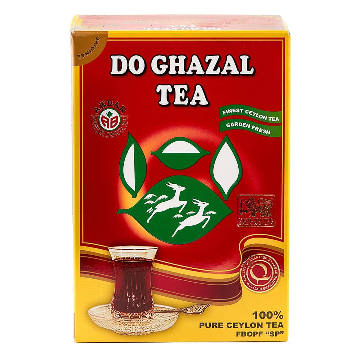 Buy Alghazaleen Tea (Do Ghazal Tea) Pure Ceylon Tea (100 Tea Bags) - 200 gm