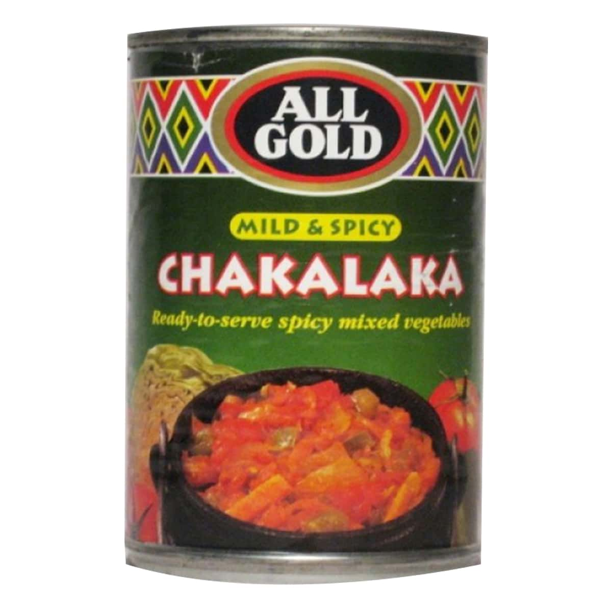 Buy All Gold Chakalaka Mild and Spicy - 410 gm