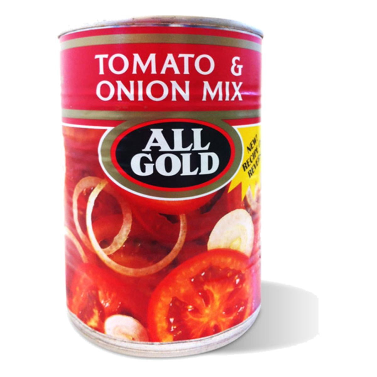 Buy All Gold Chakalaka Tomato and Onion Mix - 410 gm