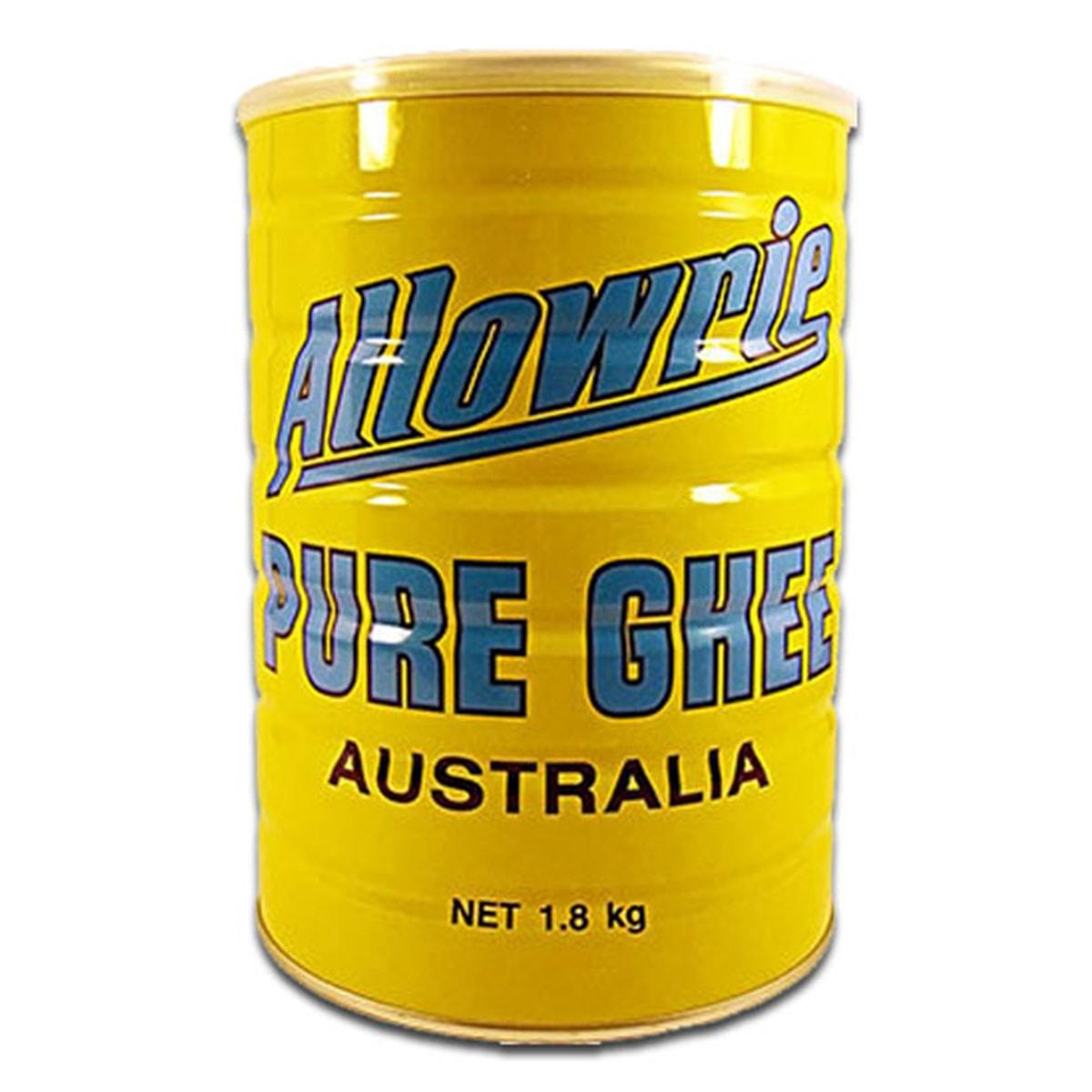 Buy Allowrie Pure Ghee (Clarified Butter) Australia - 1.8 kg
