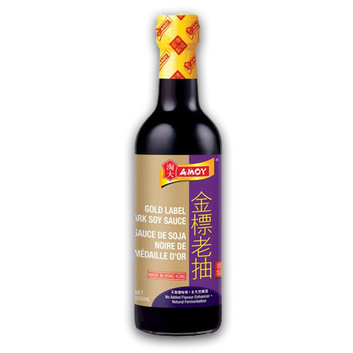 Buy Amoy Gold Label Dark Soy Sauce - 500 ml