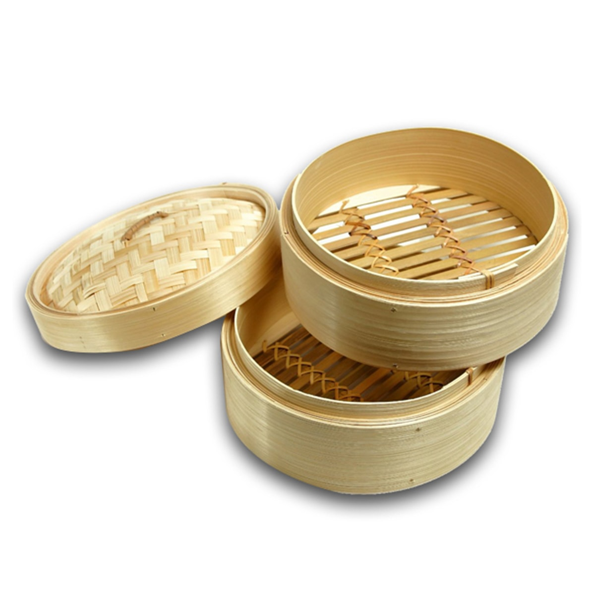 Buy IAG Products Bamboo Steamer (Lid and Base) - 14 inch