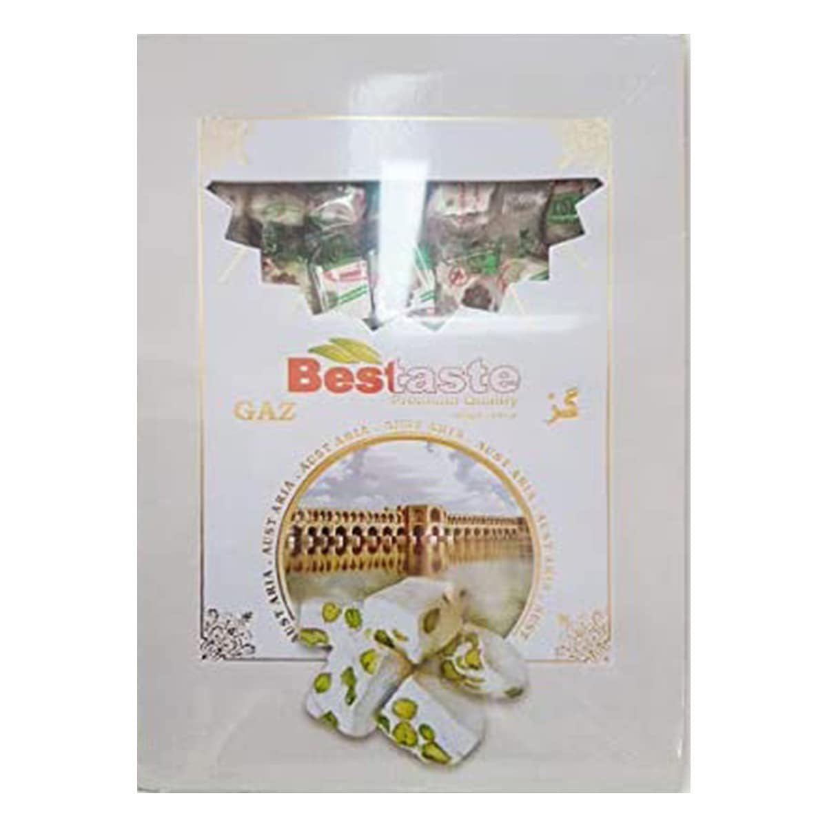 Buy Bestaste Ahmadi and Sons Gaz Noghat / Nougat Pack (Pistachio) - 450 gm