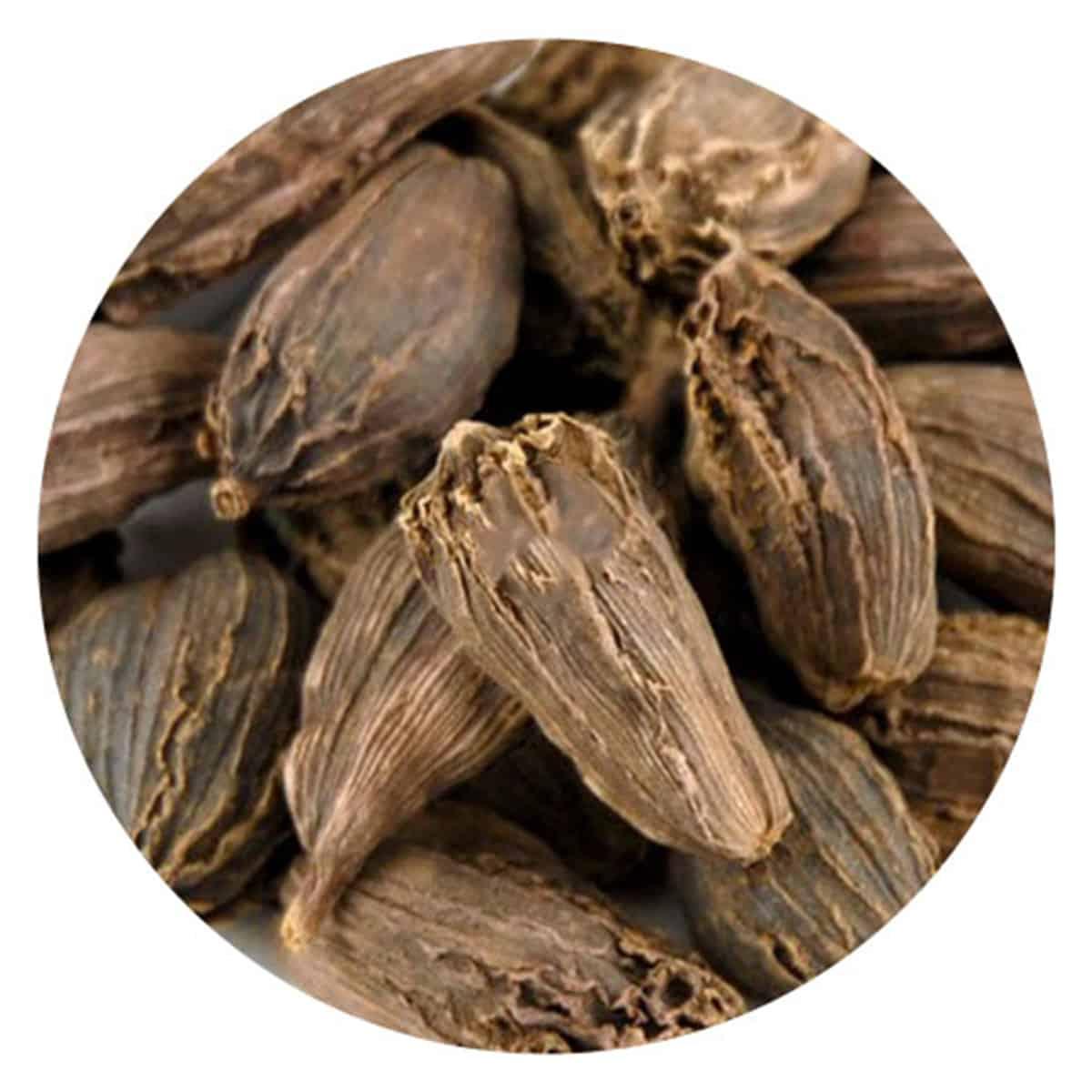 Buy IAG Foods Black Cardamom Pods (Badi Elaichi) - 1 kg