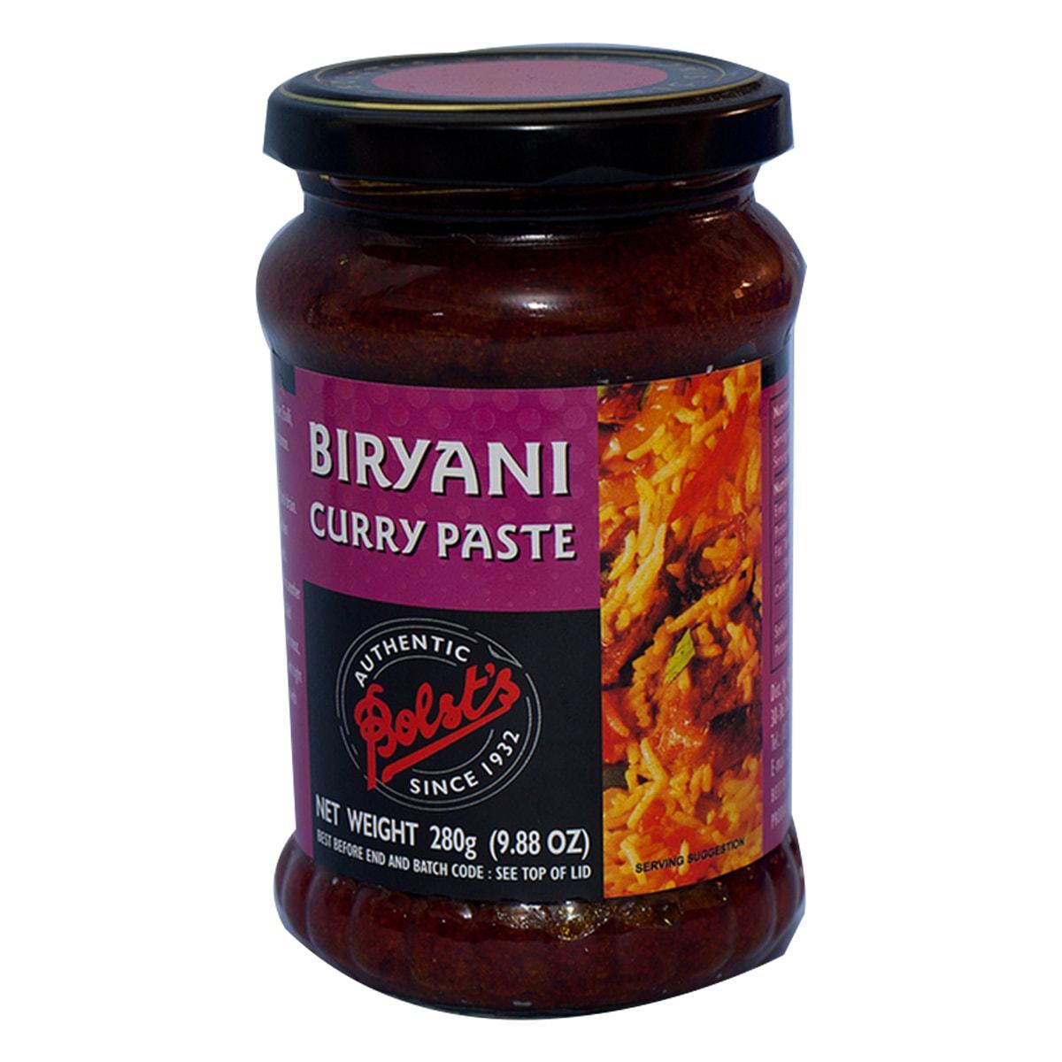 Buy Bolsts Biryani Curry Paste - 280 gm