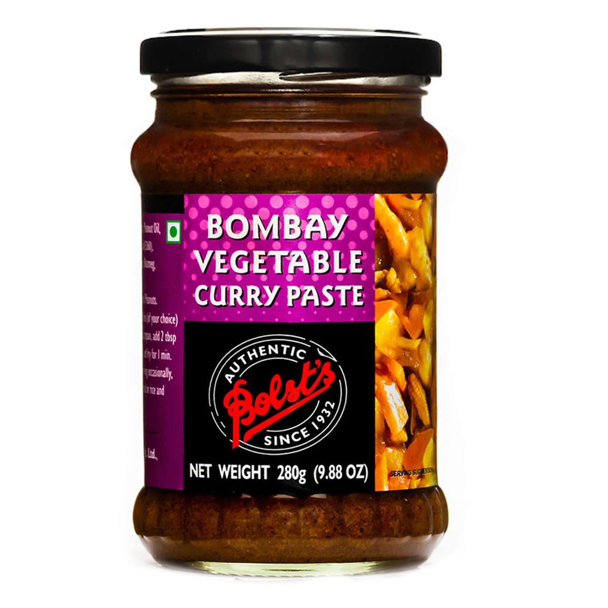 Buy Bolsts Bombay Vegetable Curry Paste - 280 gm