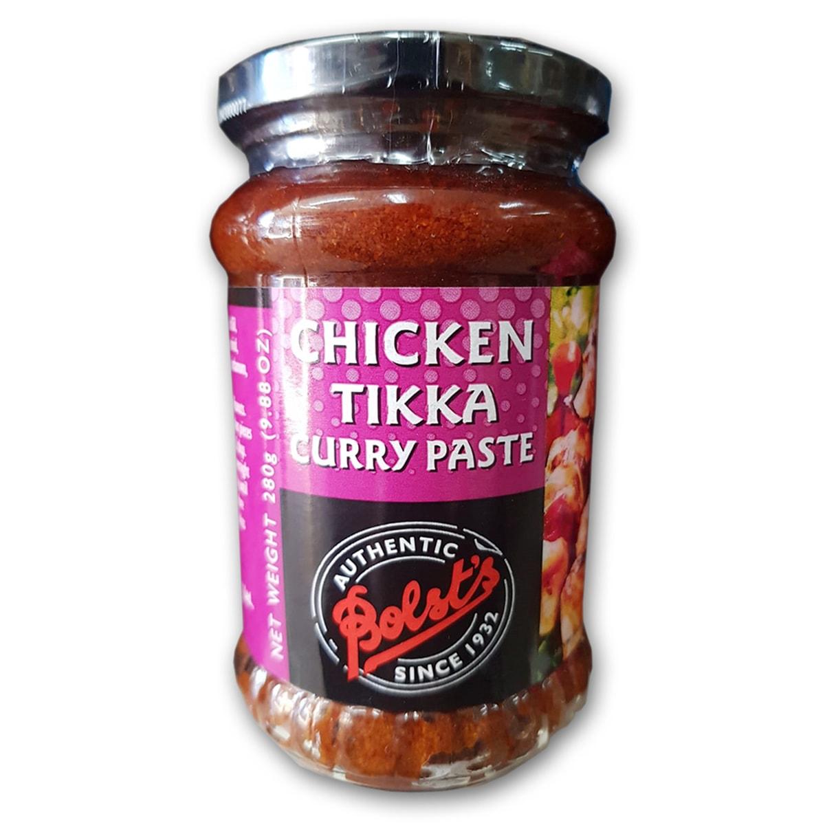 Buy Bolsts Chicken Tikka Curry Paste - 280 gm