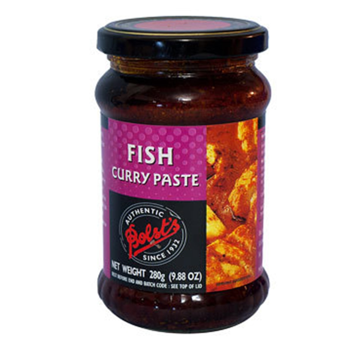 Buy Bolsts Fish Curry Paste - 280 gm