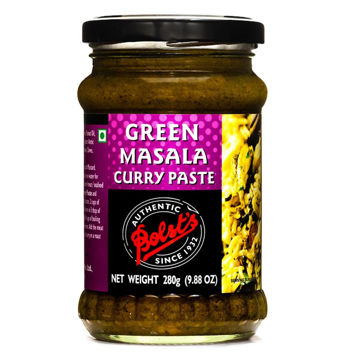 Buy Bolsts Green Masala Curry Paste - 280 gm
