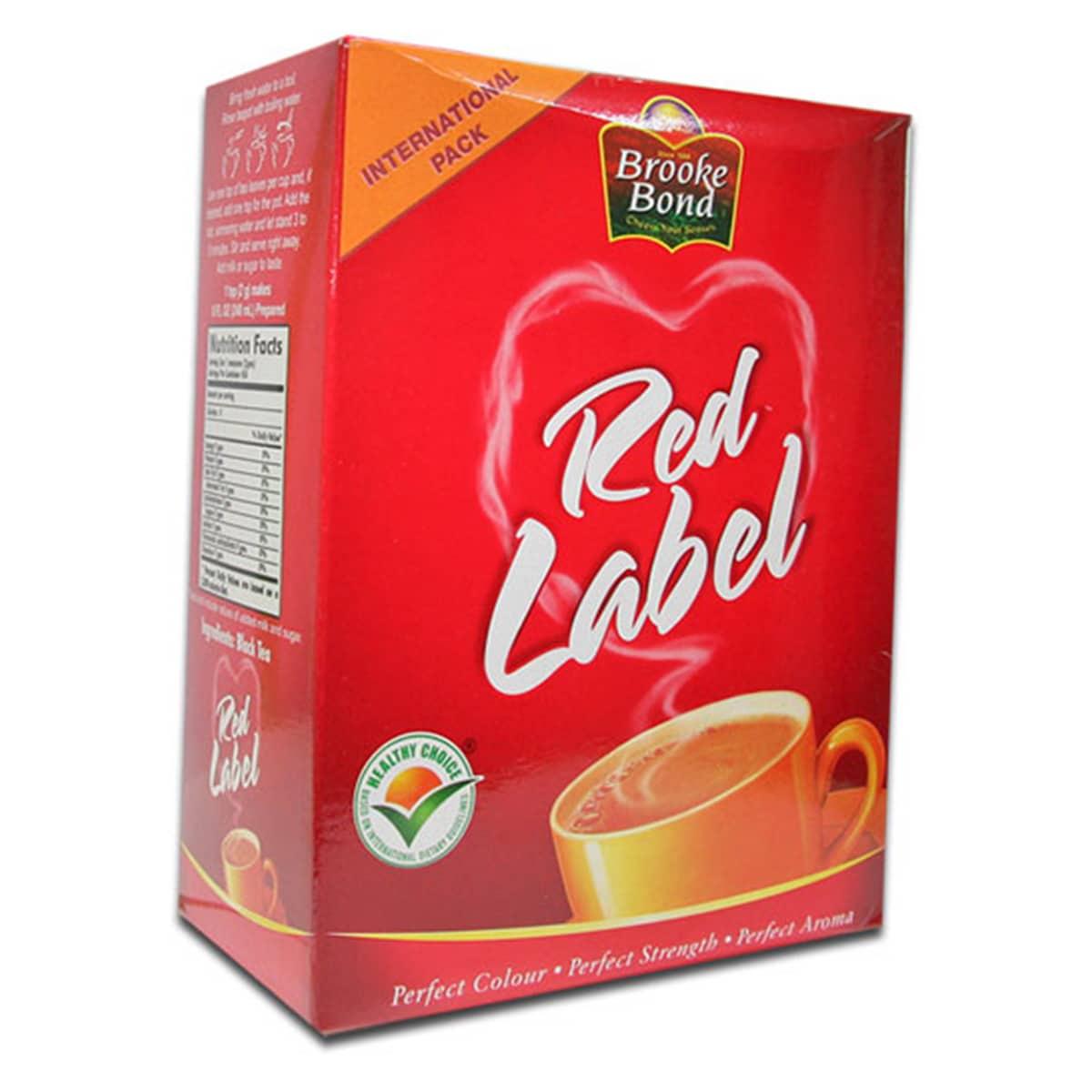 Buy Brooke Bond Red Label Tea (Loose Tea) - 900 gm