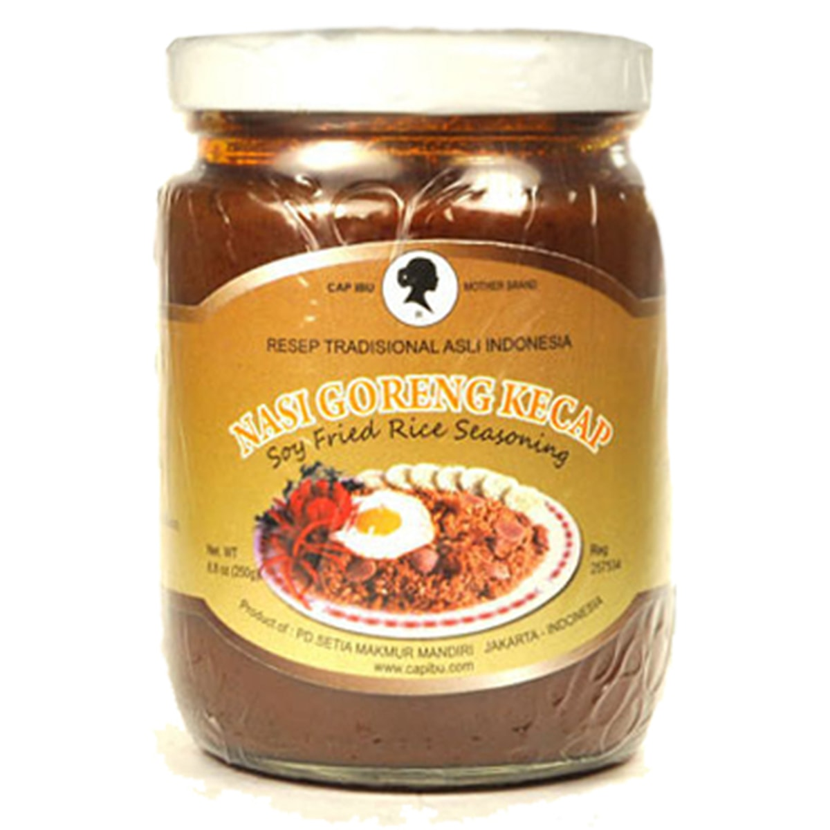 Buy CAP IBU Motherbrand Nasi Goreng Kecap (Soy Fried Rice Seasoning) - 250 gm