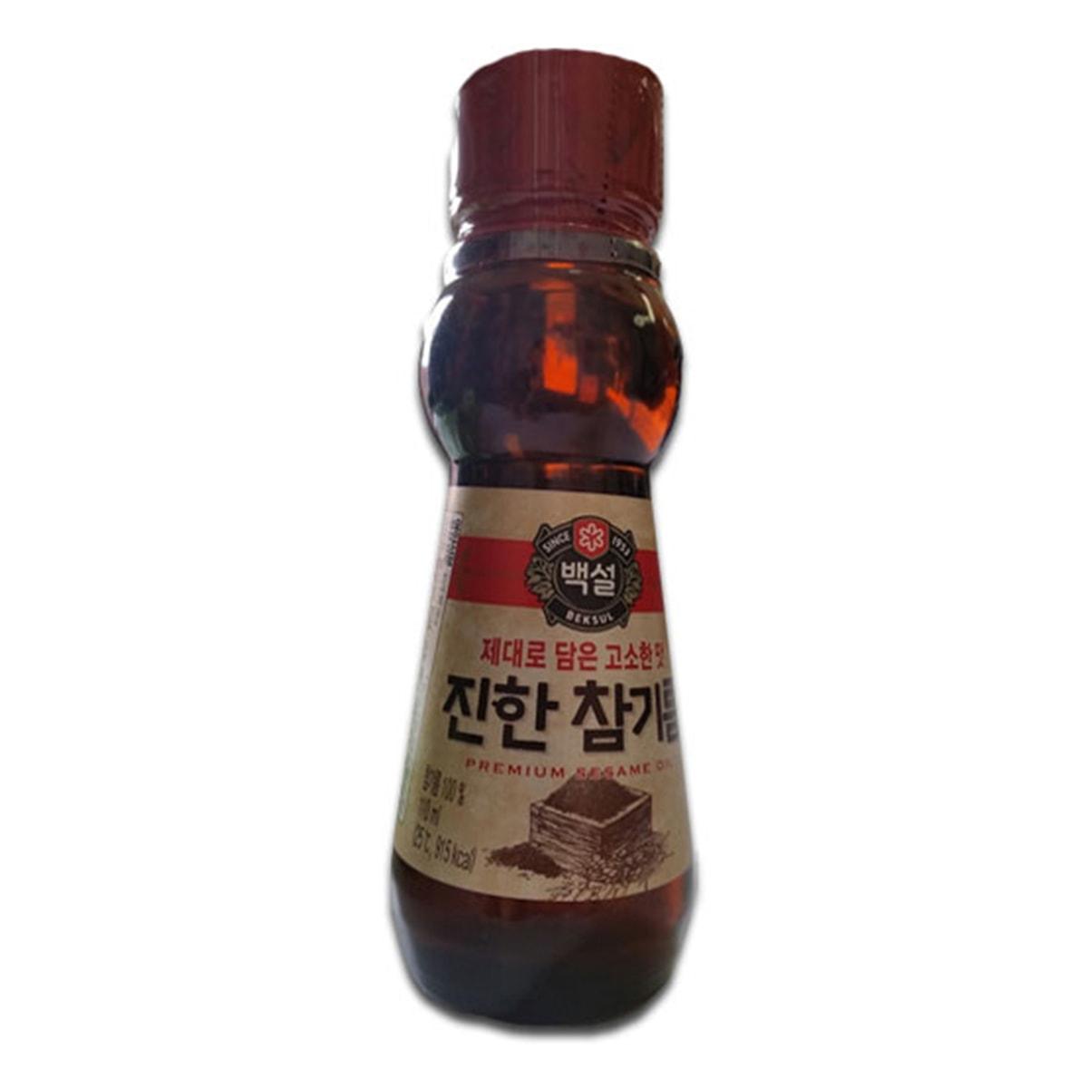 Buy CJ Beksul Premium Sesame Oil - 110 ml