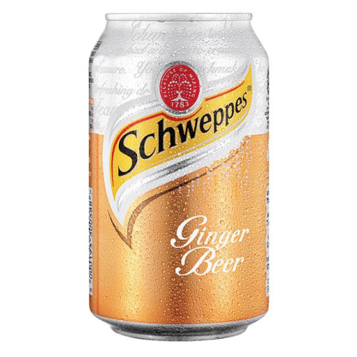 Buy Coca Cola Schweppes Ginger Beer Can - 330 ml