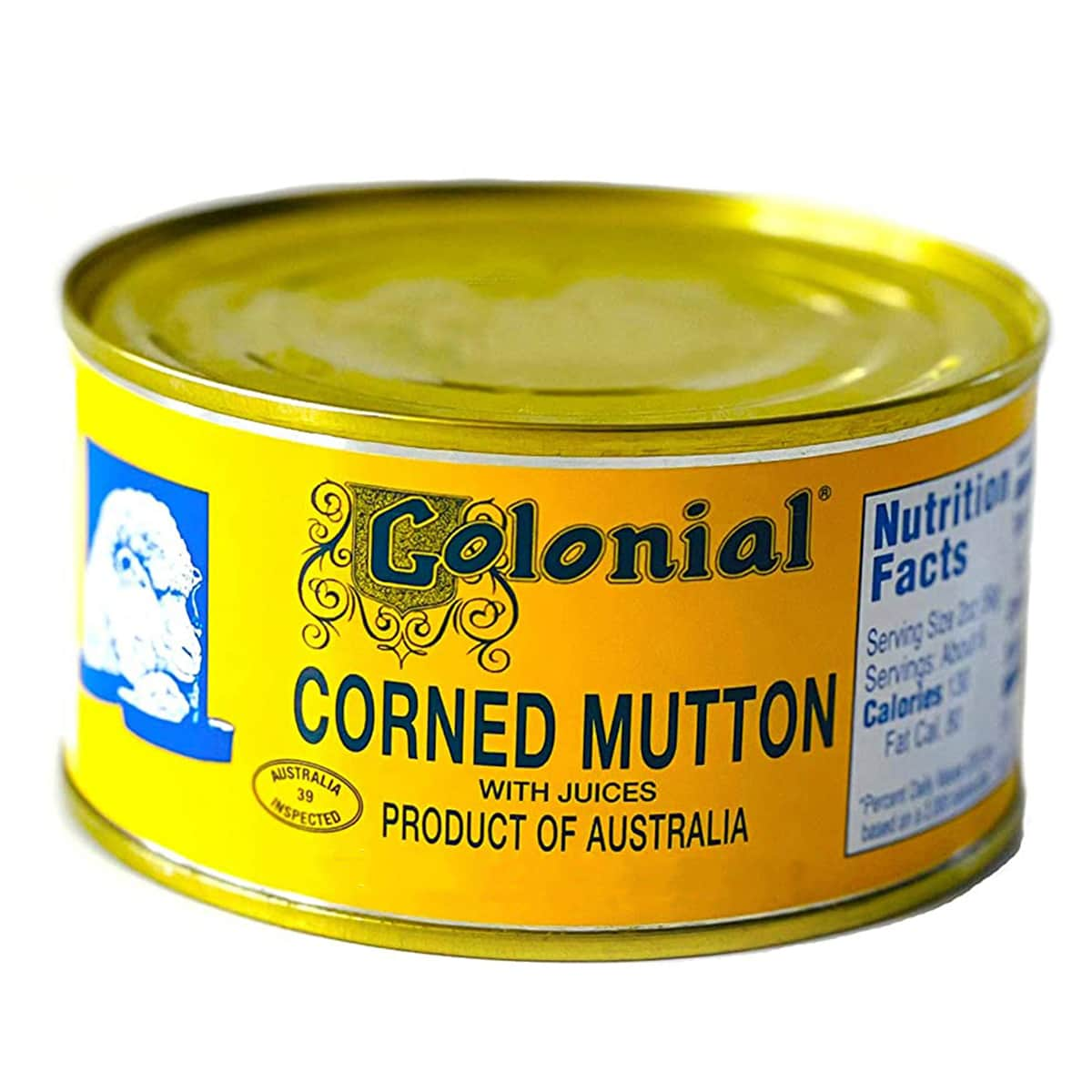 Buy Colonial Corned Mutton with Juices - 340 gm