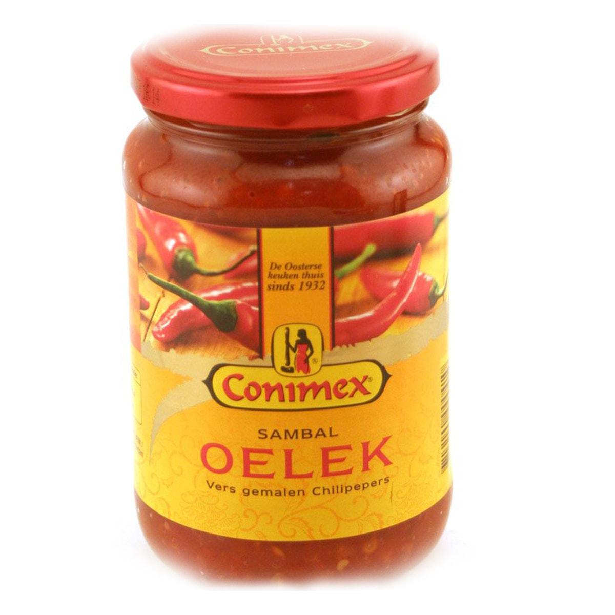 Buy Conimex Sambal Oelek (Hot Chilli Paste) - 190 gm