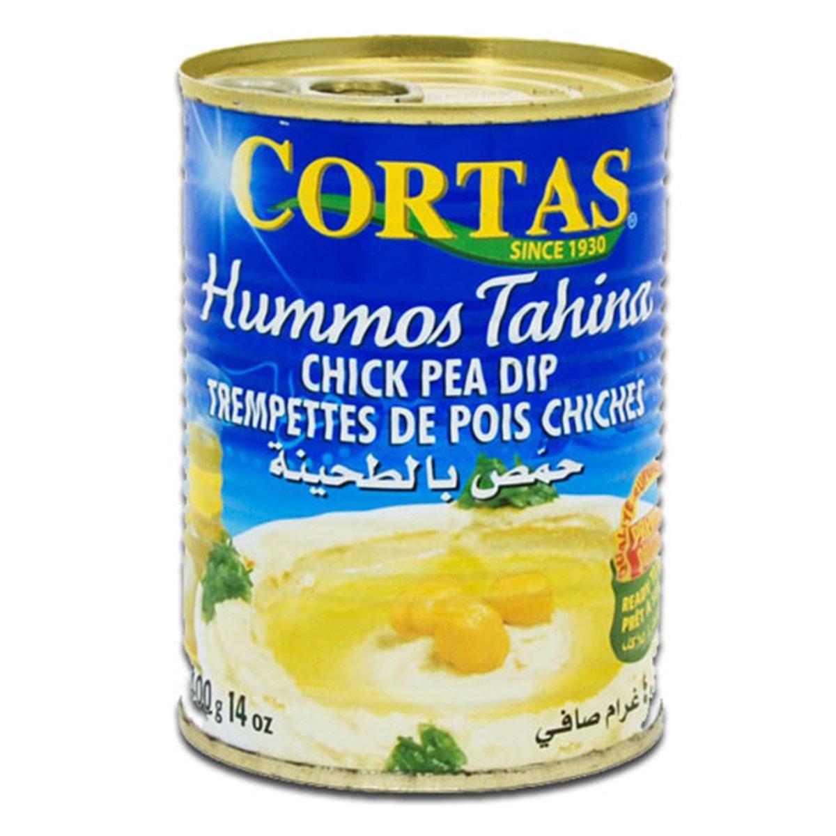Buy Cortas Hummos Tahini (Chick Pea Dip) Ready to Serve - 400 gm