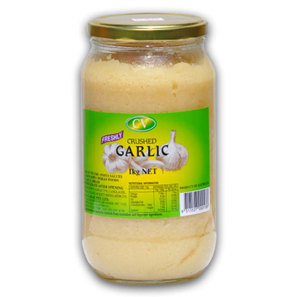 Buy CV Freshly Crushed Garlic Paste - 1 kg