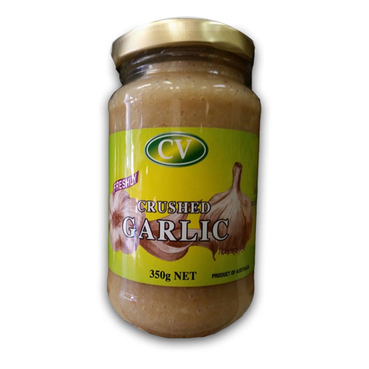 Buy CV Freshly Crushed Garlic Paste - 350 gm