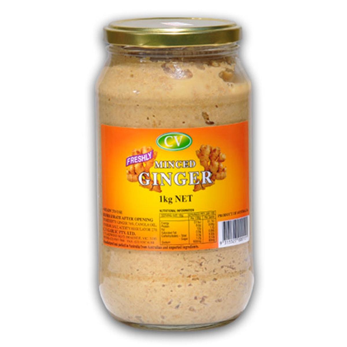 Buy CV Freshly Minced Ginger Paste - 1 kg