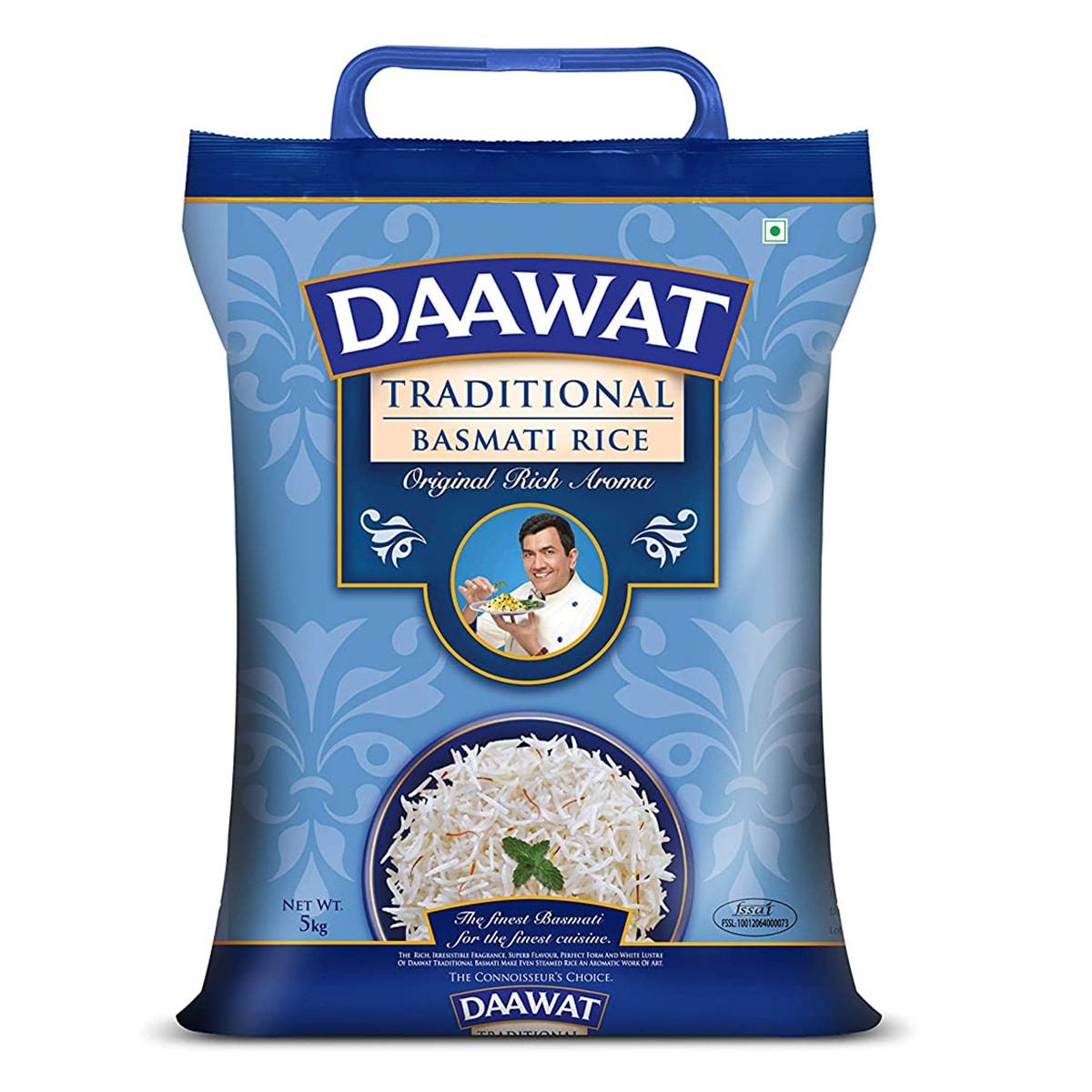 Buy Daawat Traditional Basmati Rice - 5 kg