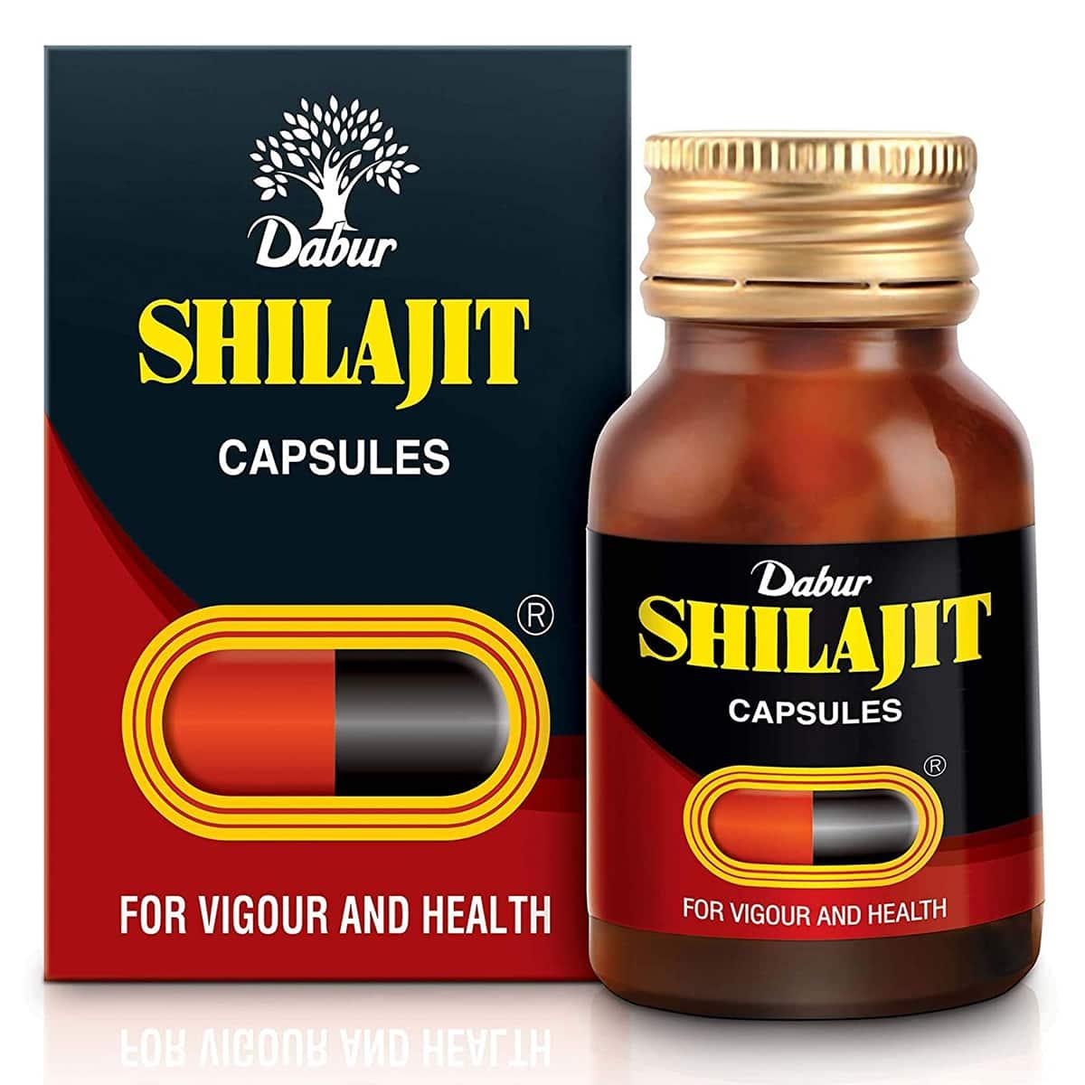 Buy Dabur Shilajit - 30 Capsules