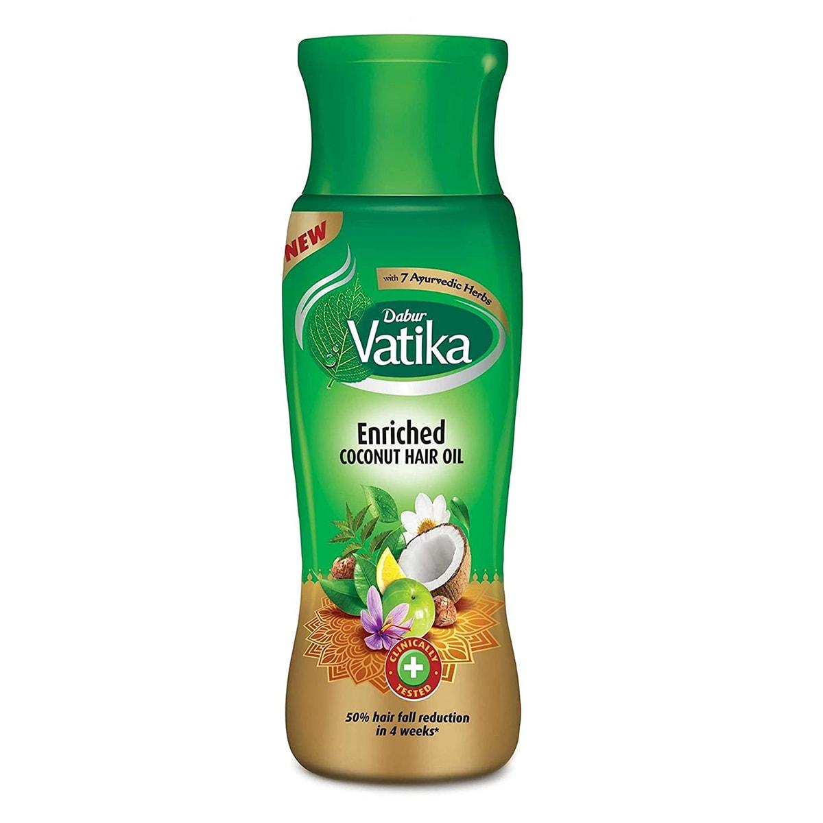 Buy Dabur Vatika Enriched Coconut Hair Oil - 300 ml