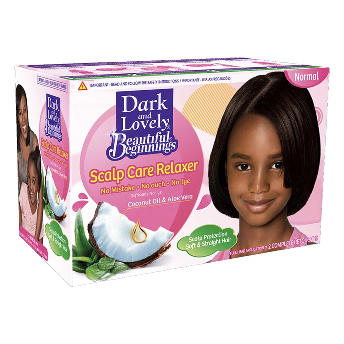 Buy Dark and Lovely Kids No Mistake Hair Relaxer for Normal Hair - 600 ml