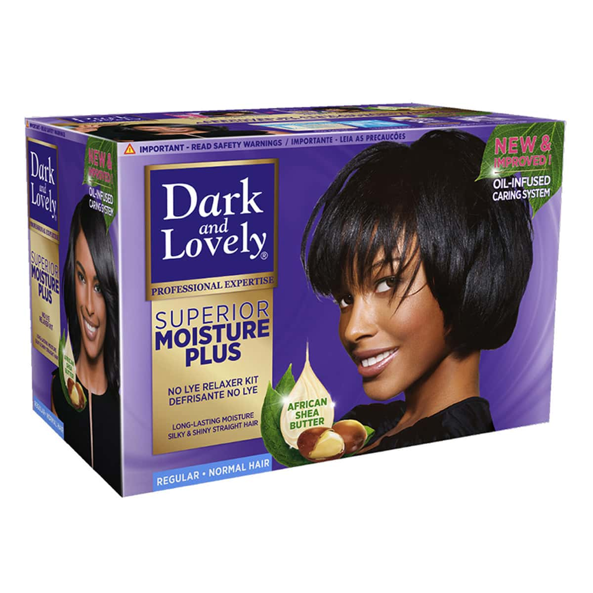 Buy Dark and Lovely No-lye Conditioning Relaxer System Regular - 600 ml