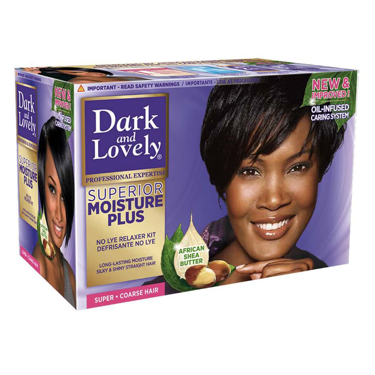 Buy Dark and Lovely No-lye Conditioning Relaxer System Super Ultra - 600 ml