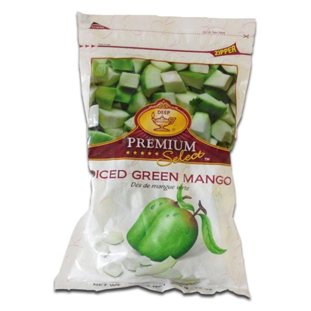 Buy Deep Foods Diced Green Mango Frozen - 340 gm
