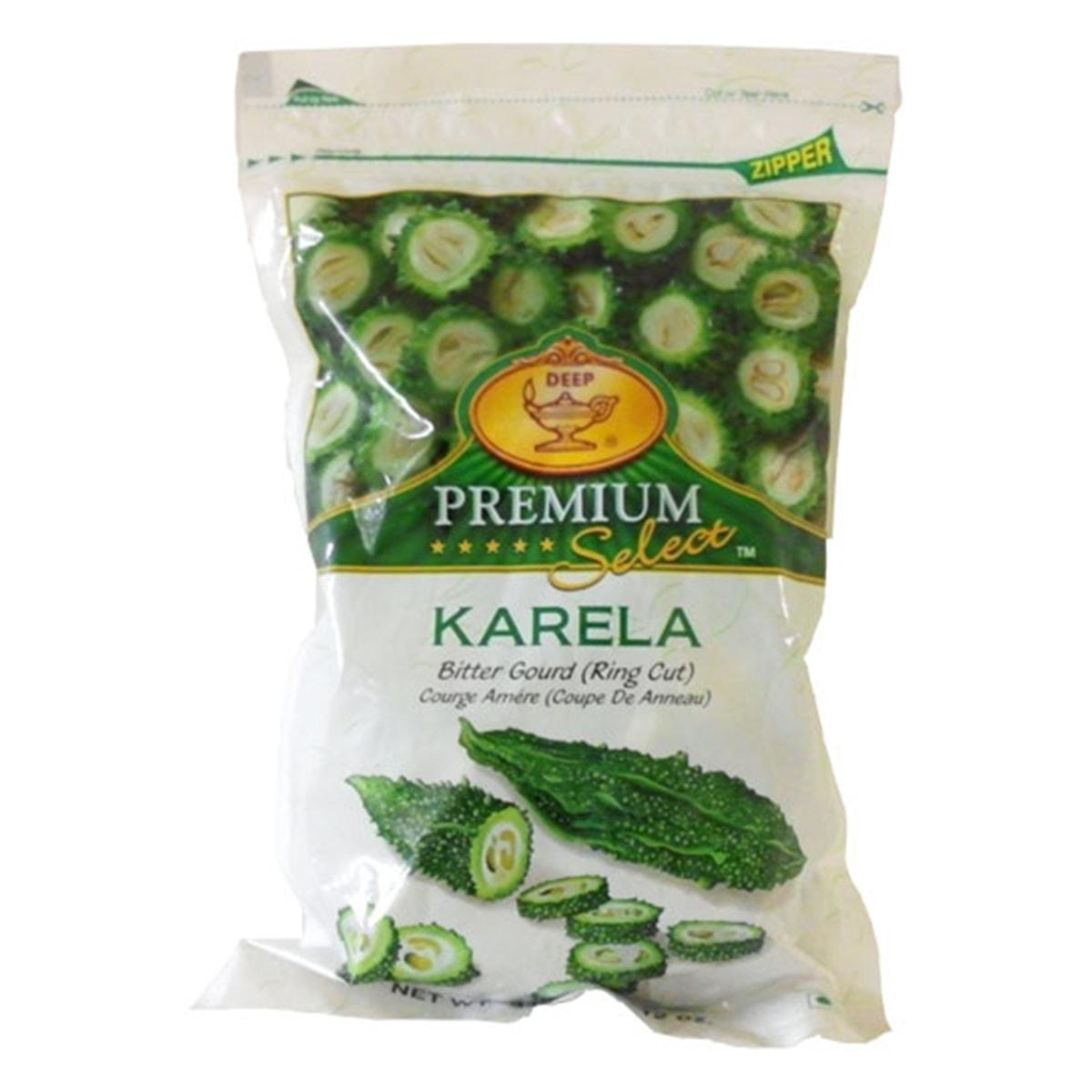 Buy Deep Foods Karela (Bitter Gourd) Frozen - 340 gm