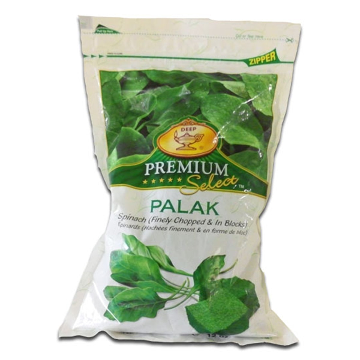Buy Deep Foods Palak (Spinach) Frozen - 340 gm