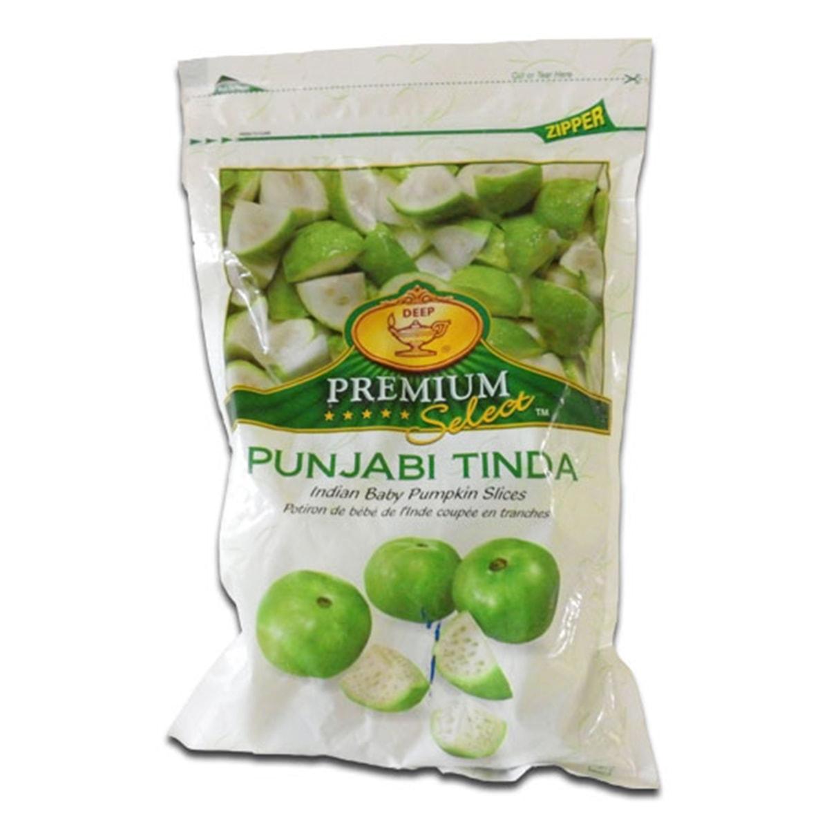 Buy Deep Foods Punjabi Tinda (Indian Baby Pumpkin Slices) Frozen - 340 gm