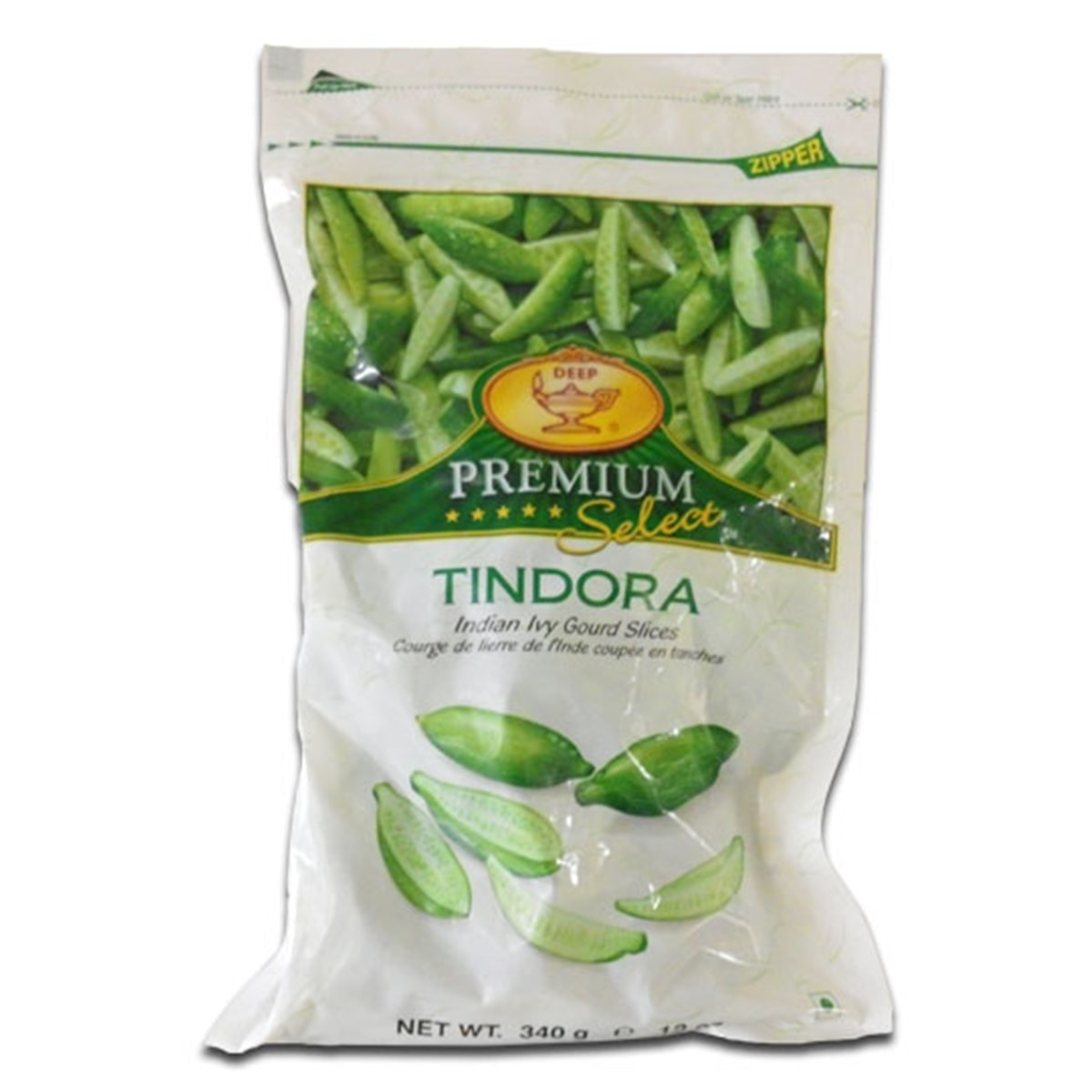 Buy Deep Foods Tindora (Indian Ivy Gourd Slices) Frozen - 340 gm