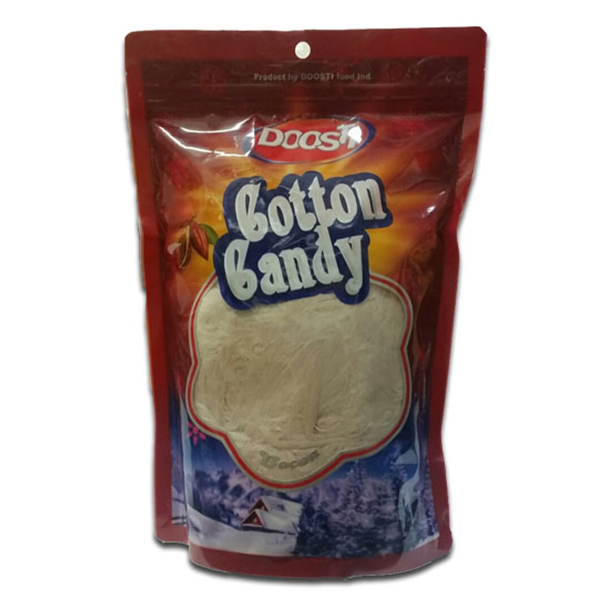Buy Doosti Persian Fairy Floss or Pashmak or Cotton Candy (Brown Chocolate) - 350 gm