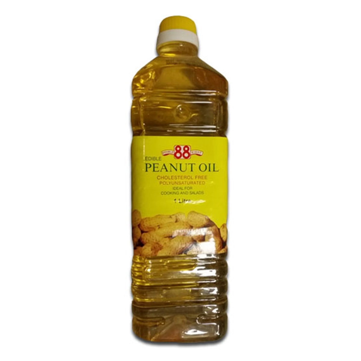 Buy Double Eight (88) Edible Peanut Cooking Oil (Cholesterol Free) - 1 Litre