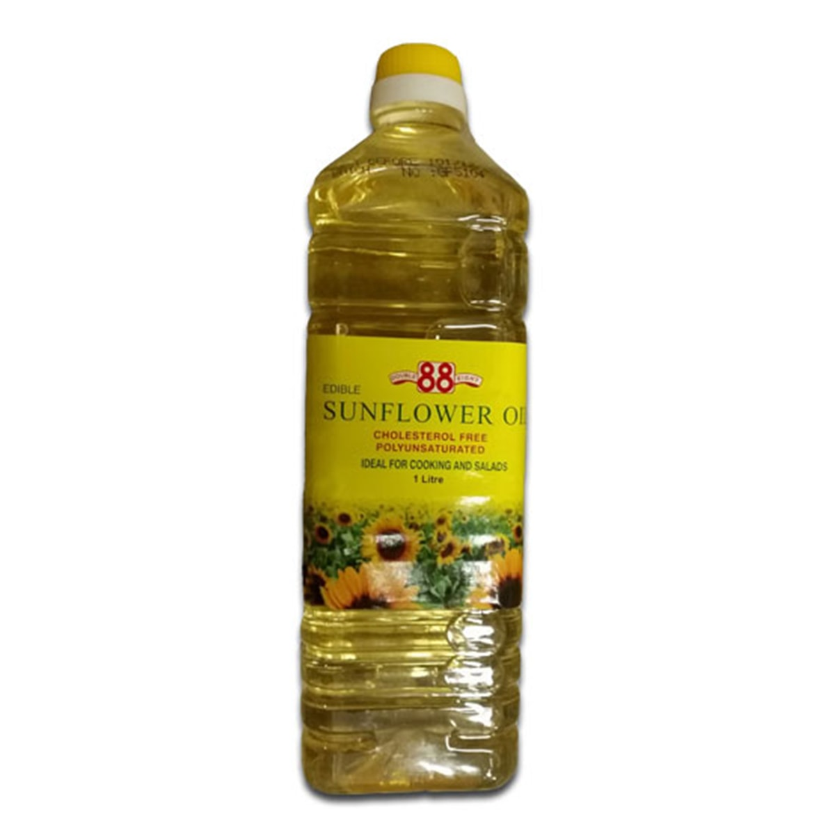 Buy Double Eight (88) Edible Sunflower Cooking Oil (Cholesterol Free) - 1 Litre