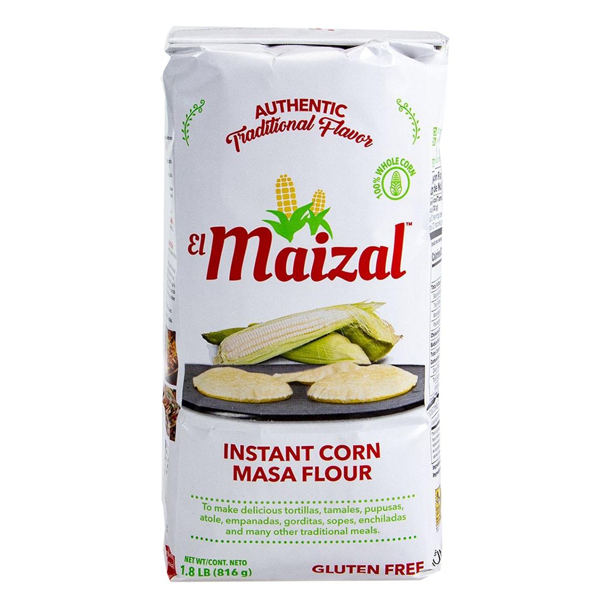 Buy EL Maizal Nixtamalized White Corn Masa Mix - 816 gm