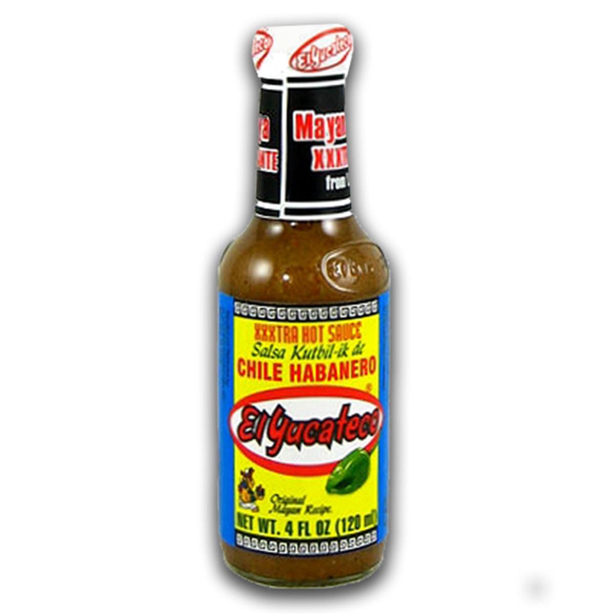 Buy El Yucateco XXXtra Hot Sauce Salsa Kutbil-ik De Chile Habanero - 120 ml
