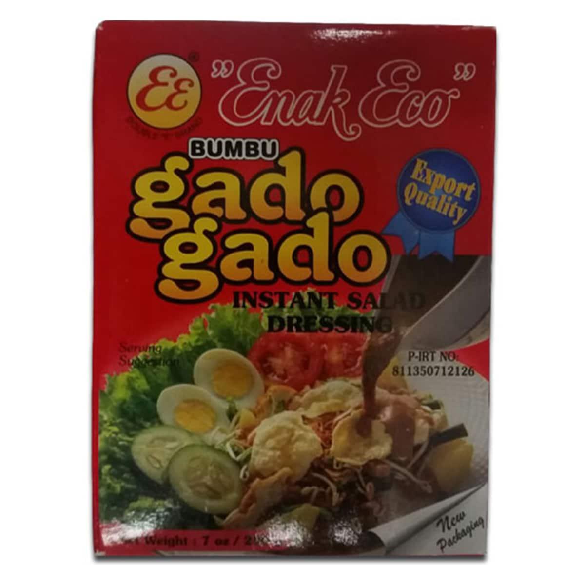 Buy Enak Eco Bumbu Gado Gado (Instant Salad Dressing) - 200 gm