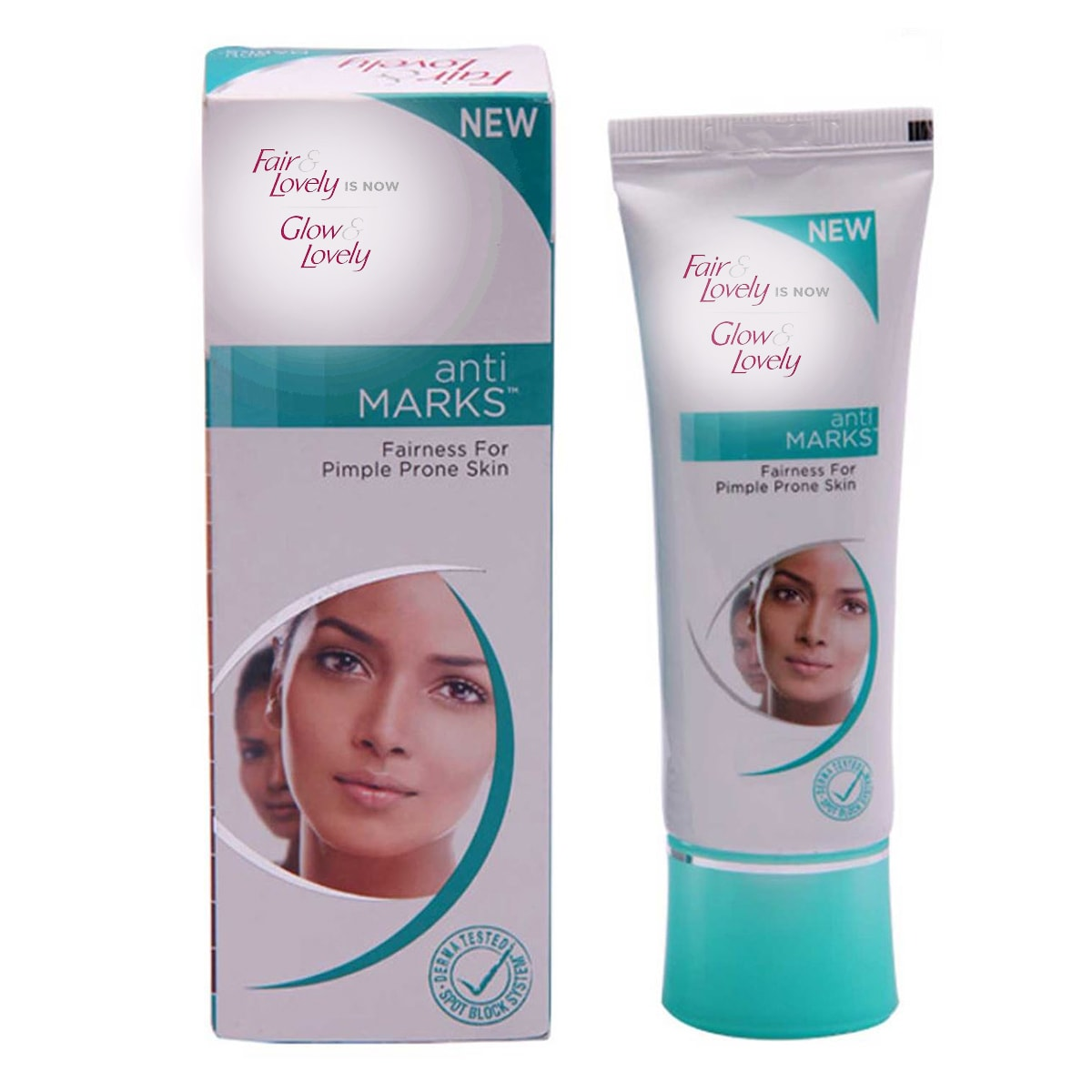 Buy Glow and Lovely Anti Marks Cream - 50 gm