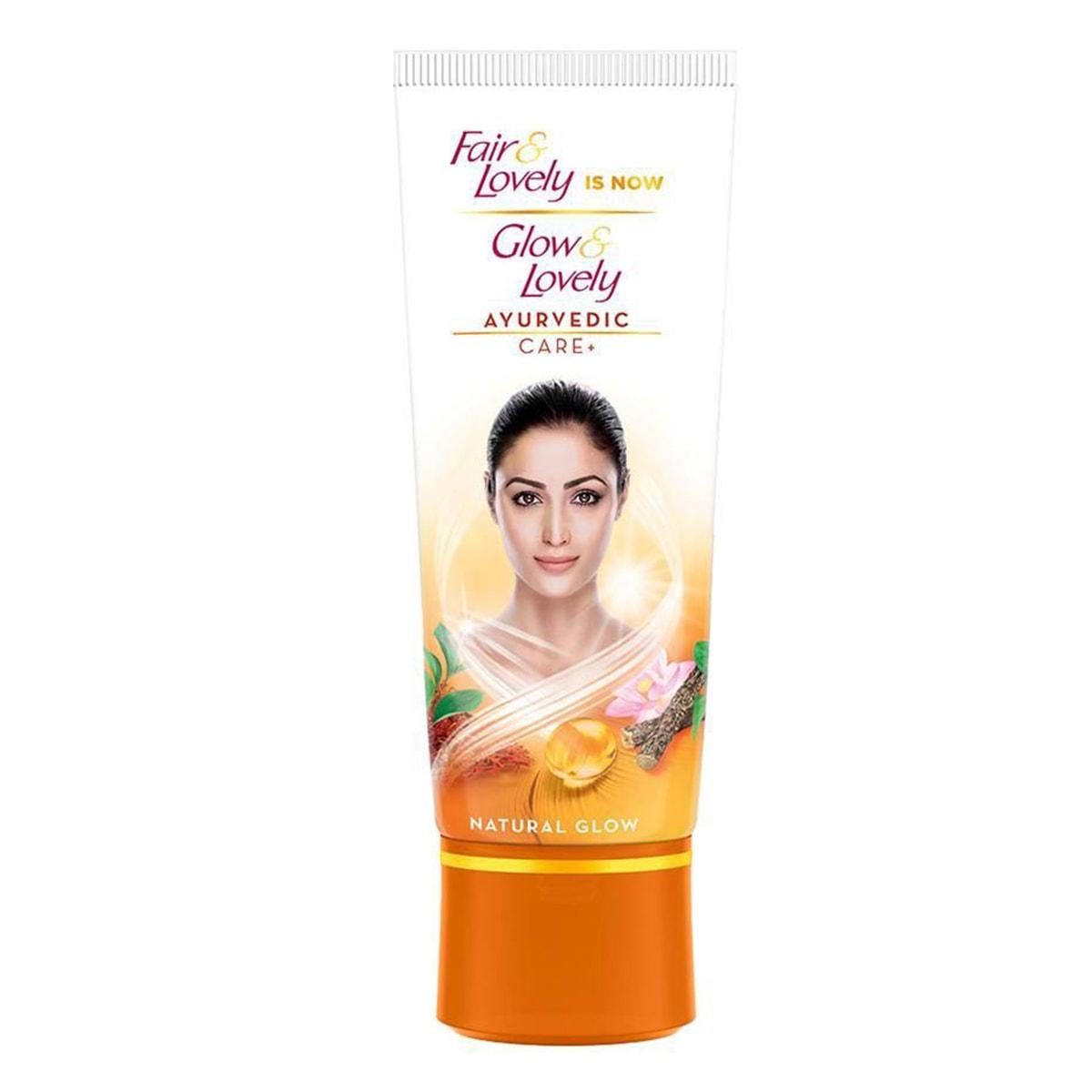 Buy Glow and Lovely Ayurvedic Care Cream - 50 gm